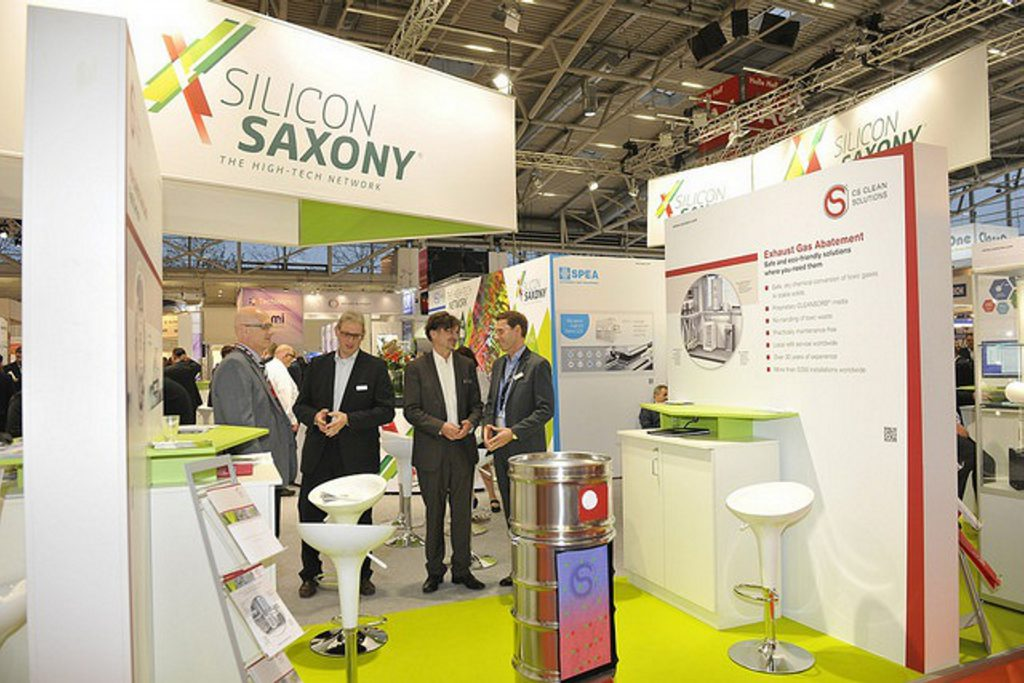 Abbildung der SEMICON Europe 2018 der CS Clean Solutions